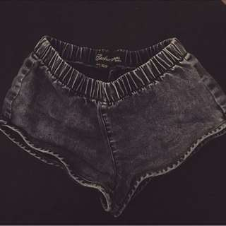 "Dark ""Denim"" shorts"