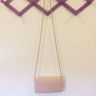 BN Forever21 pastel pink bag/clutch