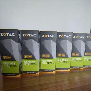 Zotac GTX 1070 Ti Mini 8GB 1070ti GTX1070