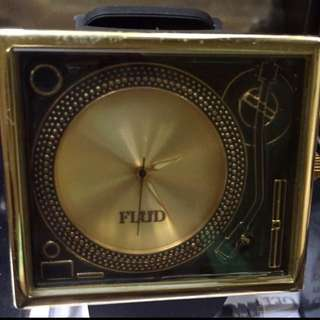 Authentic Fluid Gold Turn Table Watch