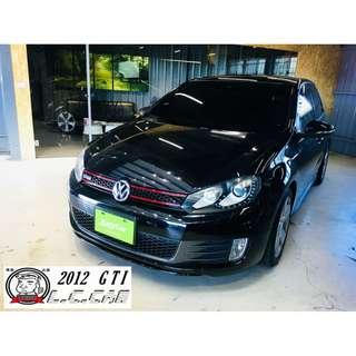 2012 GTI 2.0 黑 一手漂亮車