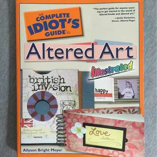 Idiot Guide - Altered Art