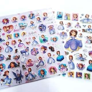 Princess Sofia Disney Stickers
