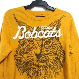 (8-10Y) Osh Kosh Bobcats top