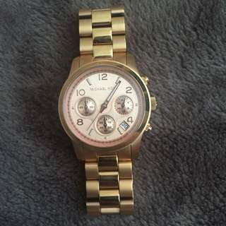 Michael Kors Rose Gold Watch (Unisex)