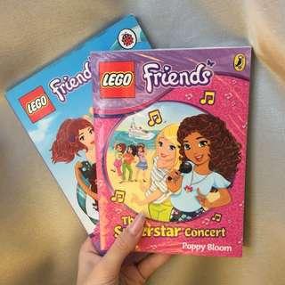 Lego Friends Interactive Books