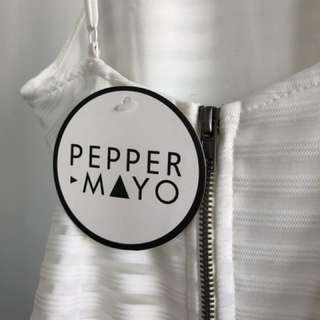 Peppermayo White Party Dress