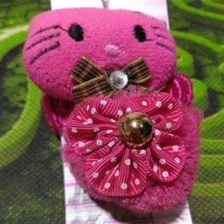 Ikat Rambut Hello Kitty/Pink