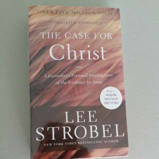 BNIB The Case For Christ book selling only sgd 20!