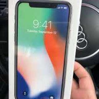 Iphone X unlocked 256gb brand new
