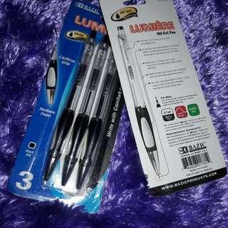 Lumiere oil gel pen w/ grip