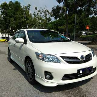 TOYOTA ALTIS 2.0 V SPEC (A) 7 SPEEDS FACELIFT 1 OWNER FULL LOAN 9 YEARS NICE NO 1618.