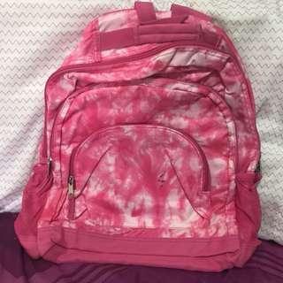 Assorted backpacks