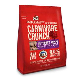 Stella & Chewys Dog Treats - Carnivore Crunch (3.25oz)