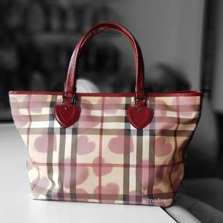Authentic Burberry Valentines Tote