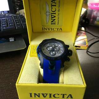 Authentic invecta watch
