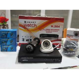 CCTV Smartwatch 720P HD Package for only with 500GB Storage(4Ch +1pc VC1.0D026W +1pc HC1.0B006G)