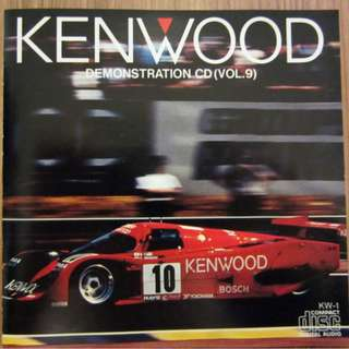 Kenwood Demonstration Cd Vol. 9 Made In Japan By Toshiba EMI LTD CD Album