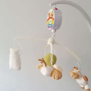 Simple Dimple mobile for crib