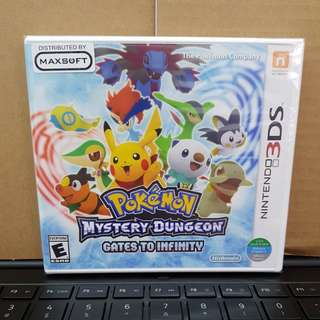 3DS - Pokemon Mystery Dungeon : Gates To Infinity