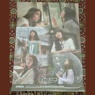 Gfriend RAINBOW poster