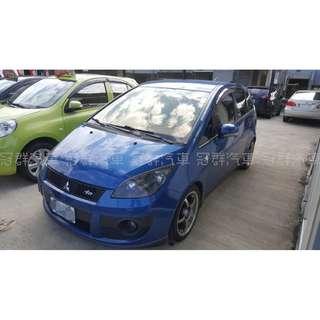 實價登陸 2010年 Colt plus 藍 搭配3500元交車方案 輕鬆貸款無負擔