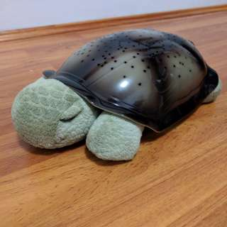 Twilight Turtle Electronic Night Light Plush Toy with Star Light