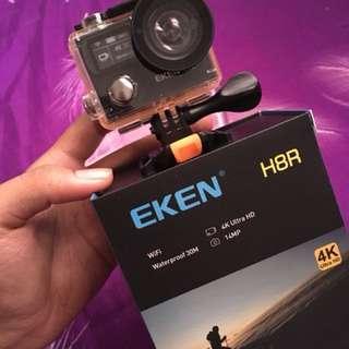 Eken H8r fullset never use + extra battery