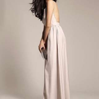Liberte Gray Gown Long Dress