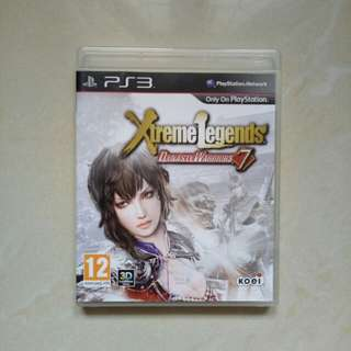 BD PS3 EXTREME LEGENDS DYNASRY WARRIOR 7 (REG 2)