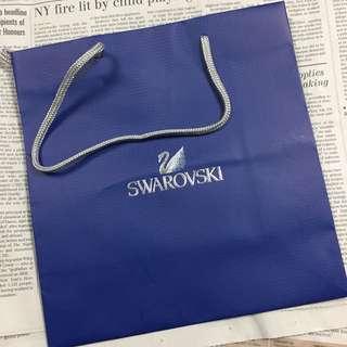 🚚  Sawarovski 提袋 24*23*11cm