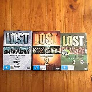 LOST original TV series (Season 1-3)