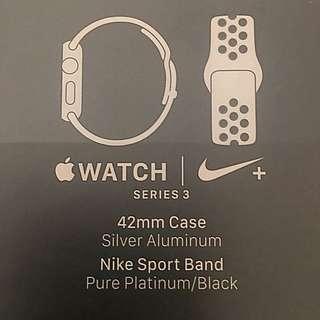 Apple Watch Series 3 - Nike+ 42mm