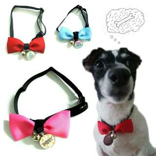 Customized Bow Tie Pet Collars