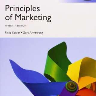 Principle of marketing