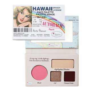 -Clearance- The Balm Hawaii Face Palette