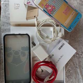 Oppo f1s rose gold complete for SALE or SWAP #hello2018