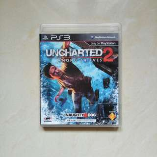 BD PS3 UNCHARTED 2 AMONG THIEVES ( REG 3 )