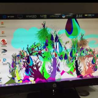 "Hp monitor 23"" full HD"