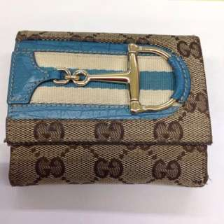 🚚 Gucci 短夾 6~7成新吧 加盒2000、不加盒1800