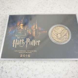 Limited Edition Harry Potter Commemorative Coin 2016