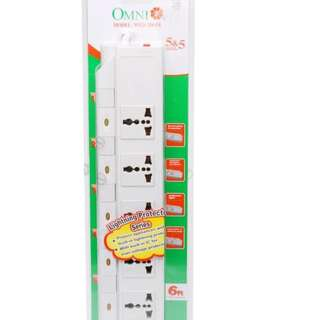 Omni 5-Gang Extension Cord with Individual Switch