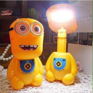 Minions Rechargeable Lamp