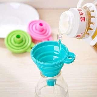 Corong air/minyak silicone unik