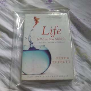 Peter Buffett life is what you make it