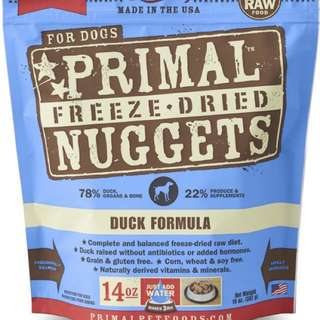 Primal Canine Freeze Dried Dog Food 14oz 397g Duck