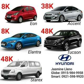 PROMO ALERT!!!  8K NALANG!!!!  👍Brand New Car, could be yours for only 8K ALL IN DP*