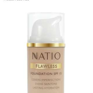 Natio flawless foundation