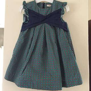Baby PONEY Little Girl Green Dress