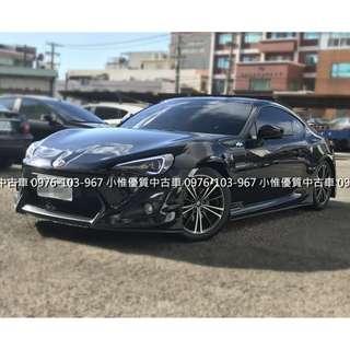 小惟優質汽車 中古車二手車 豐田YOTOYA 2012年 2.0FT 86 頂級